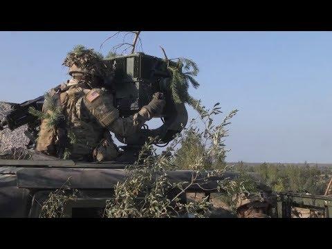 US Cavalry Takes On Baltic Terrain