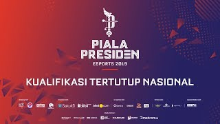 PIALA PRESIDEN ESPORTS 2019 - KUALIFIKASI TERTUTUP NASIONAL   LOUVRE JG vs EVOS