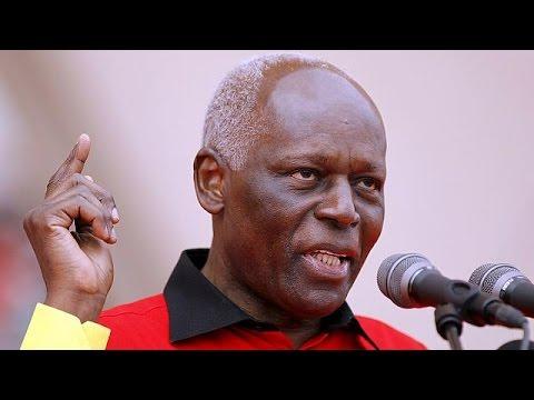 37 Yıldır Angola'yı Yöneten Devlet Bakanı Santos Görevini Bırakıyor