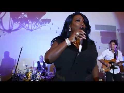 Keisha D doing Uptown Funk at Celebrity Jam Fest in Palm Desert.