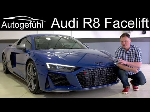 Audi R8 V10 Performance FULL REVIEW Facelift with Ascari racetrack 2020 - Autogefühl