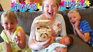 The Hardest Puzzle Box Ever! Can We Solve It?! / The Beach House