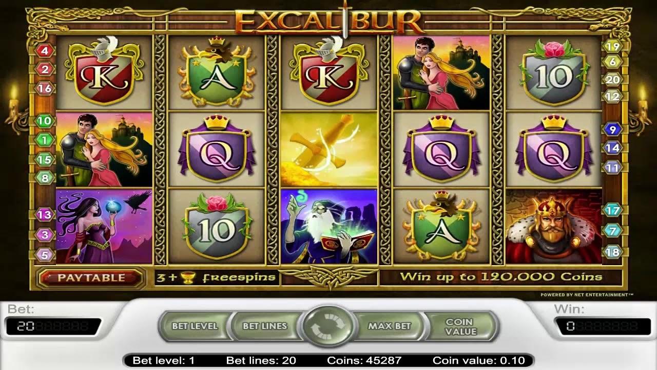 excalibur игровой автомат