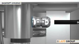 A Product Animation of the SKINTOP® HYGIENIC | Lapp Group(, 2015-06-24T11:54:22.000Z)
