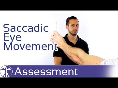 Saccadic Eye Movement | Traumatic Neck Pain & Cervicogenic Dizziness