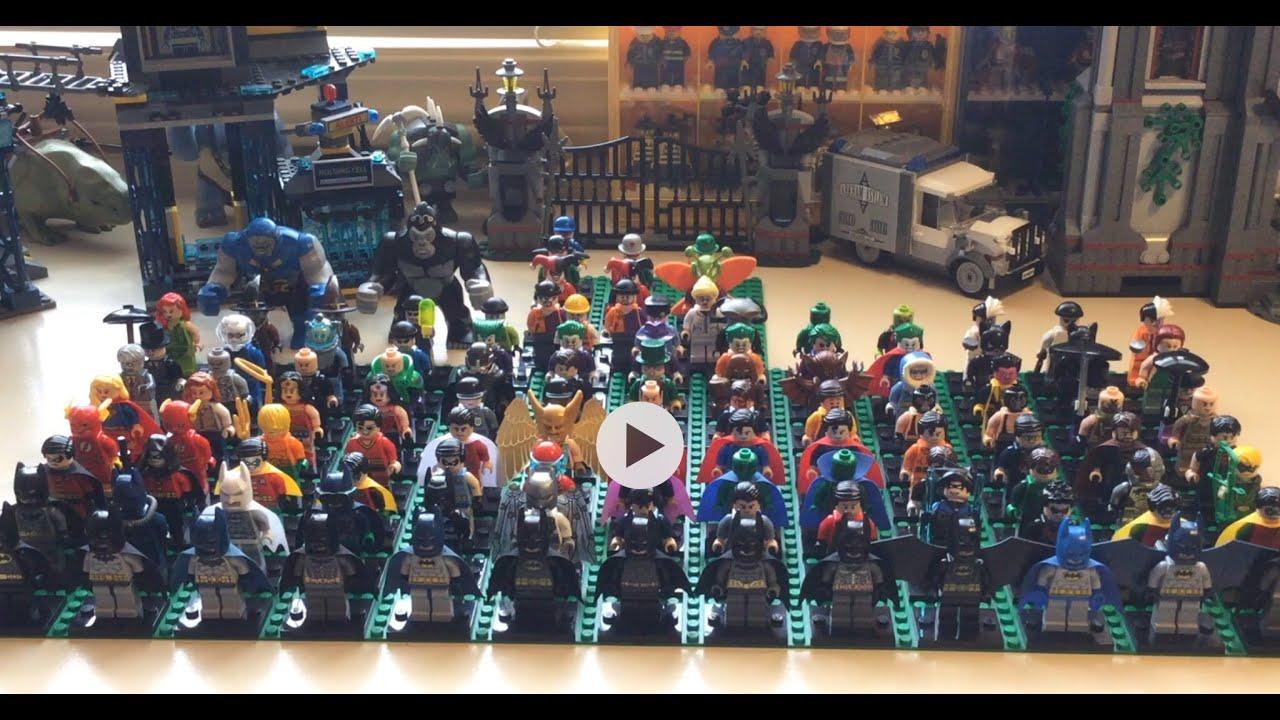 Lego DC Comics Minifigure Character Collection LegoJake17