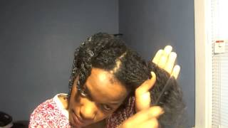 Natural Hair Diary / Shedding vs. Breakage / Detangling with a comb while Deep Conditioning