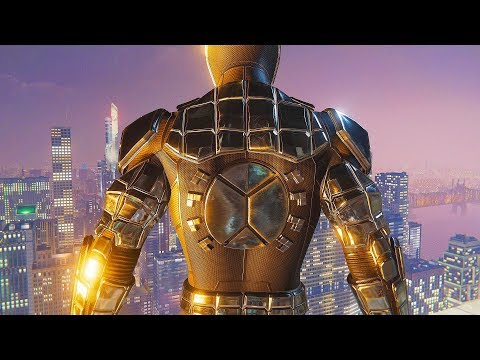 Spider-Man PS4 - The Ultimate Spider Armor MK 1 Epic Combat Stealth Takedowns & Free Roam Gameplay