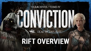 Dead by Daylight | CONVICTION Rift Overview
