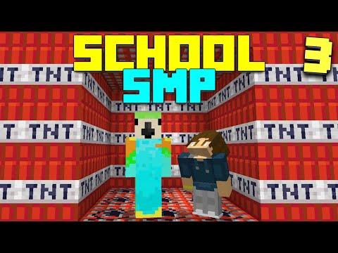 I Went to WAR on my SCHOOL's MINECRAFT SERVER