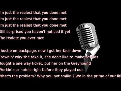 Kevin Gates - Ain't Too Hard (lyrics)