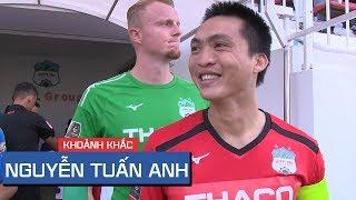Tuấn Anh với màn trình diễn đầy mạnh mẽ (Hoàng Anh Gia Lai vs Than Quảng Ninh)