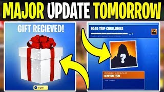 *Update Tomorrow* Fortnite: GIFTING, ROAD TRIP SKIN, Emotes, Skins (Battle Royale Leaks) File Update