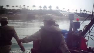 Video exclusive infectious army to the new Suez Canal and the queue by military
