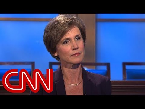 Yates: Trump has raised assault on rule of law
