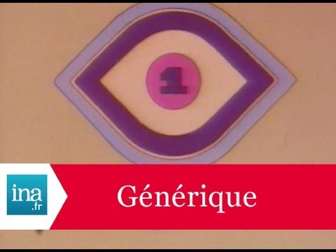 Générique 20h TF1 1976 - Archive INA