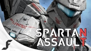 Halo: Spartan Assault - Top down destruction.