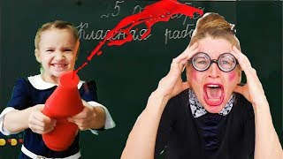 ПРАВИЛА ПОВЕДЕНИЯ В ШКОЛЕ. Дети шалят в классе