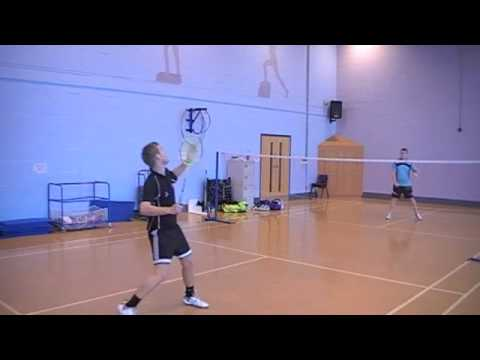 Preston College Badminton Match