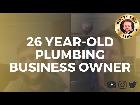 Potty Talk LIVE - The Talk Show for Plumbers (Episode 35)
