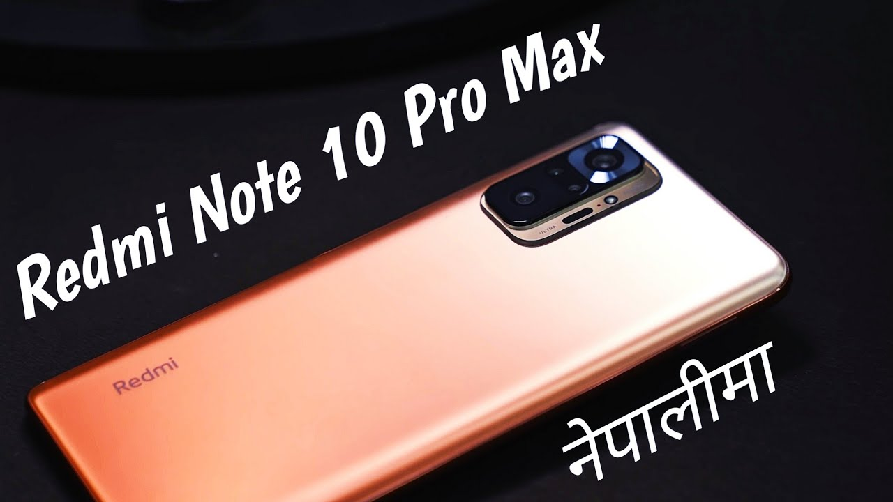 Redmi Note 10 Pro Max Launched   Price In Nepal   Features   YouTube