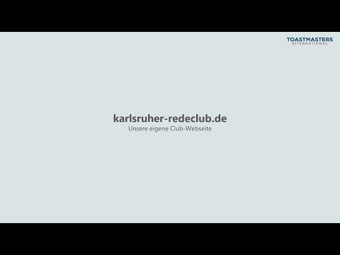 Einführung karlsruher-redeclub.de - Karlsruher Redeclub