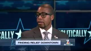 Politically Speaking Finding Relief Downtown  NBC 7 San Diego