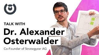 Alexander Osterwalder au Wagon Bordeaux - Business Model Canvas creator