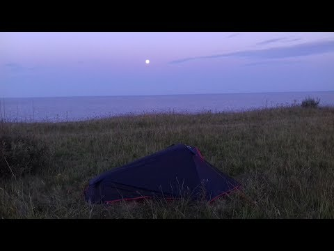 WILD CAMPING AND WALKING: COVEHITHE (8/7/17)