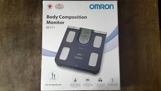 OMRON Körperanalysegerät BF511 - Körperfettwaage (Unboxing & Test)