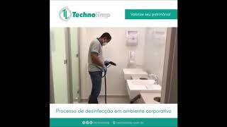 Desinfecção banheiros