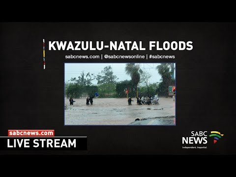 Media briefing on KwaZulu-Natal floods