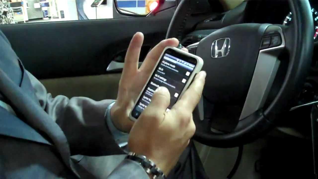 honda bluetooth pairing youtube rh youtube com 2008 Honda Fit honda jazz 2012 bluetooth manual
