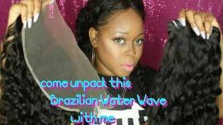 Poppin water waves Frontal+bundles Under $200  |Aliexpress Modern Show Hair