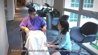 Touching Lives Ep 5 - Patient Service Officer: Service with a Smile