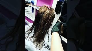 Обучение Эстония. Кератиновое выпрямление волос