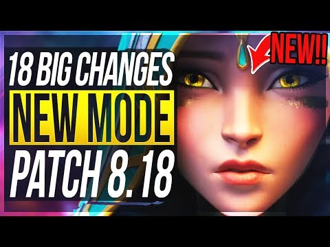 NEW ODYSSEY MODE SKINS & MORE 18 BIG CHANGES & NEW OP CHAMPS Patch 818 - League of Legends