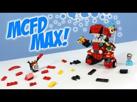 Lego Mixels Series 8 Mcfd Max Pdf Instructions Build Youtube