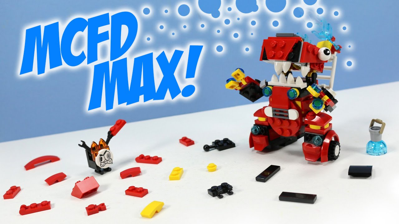 Lego Mixels Series 8 Mcfd Max Pdf Instructions Build Youtube