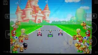 Mario kart Super Circuit 4th Place Mario