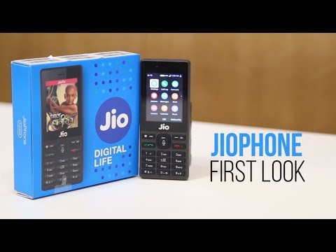 Reliance JioPhone First look: A Close Look At The 4G VoLTE Feature Phone