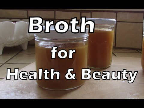 Historic Food: Slow Cooker Bone Broth + Collagen for Beauty and Health