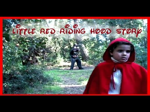 Little red riding hood story for children