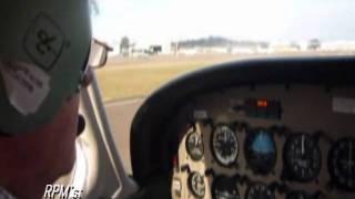 Take Off Landing Piper Warrior Bankstown Sydney .wmv