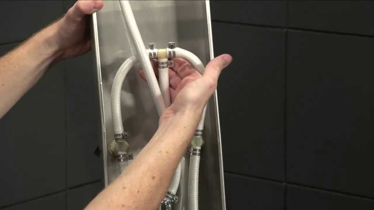 Fresca Shower Panel Installation | How to Install a shower system ...