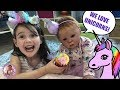 REBORN UNICORN TEA PARTY WITH MAGIC RAINBOW JUICE For Theme Thursday - UNICORNS!!