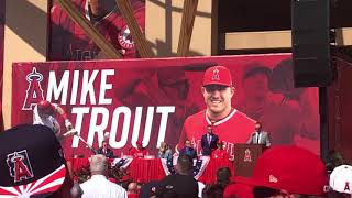 Mike Trout Press Conference / 3-24-19