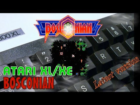 Atari XL/XE -=Bosconian=- latest version