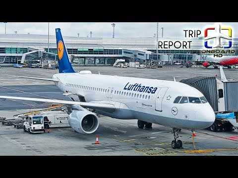 TRIP REPORT | Lufthansa | Airbus A320CEO | Frankfurt - Madrid