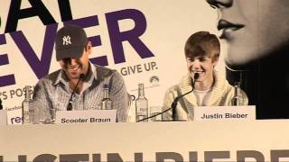 Justin Bieber tells us his secrets